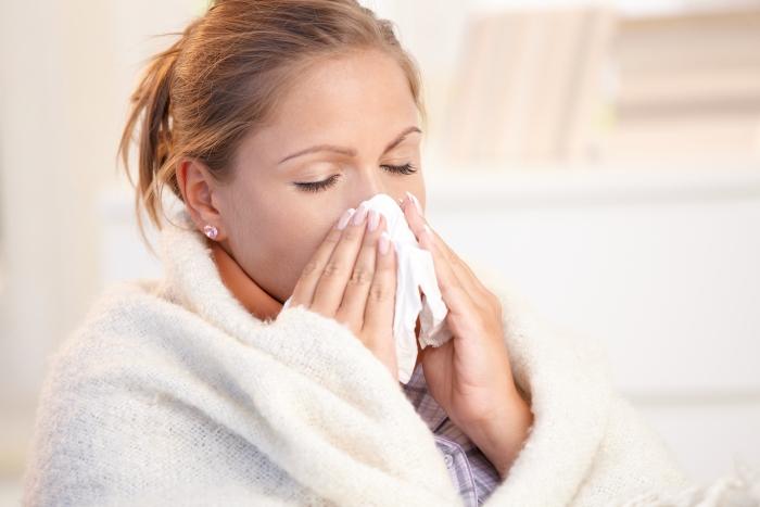 Grypa jest często mylona z przeziębieniem