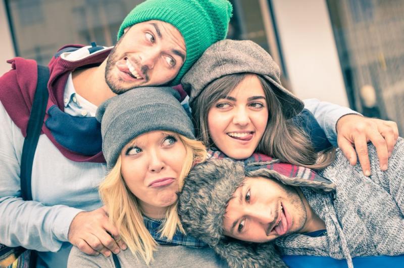 Młodość kojarzy się mocno z niczym niezachwianą radością życia.