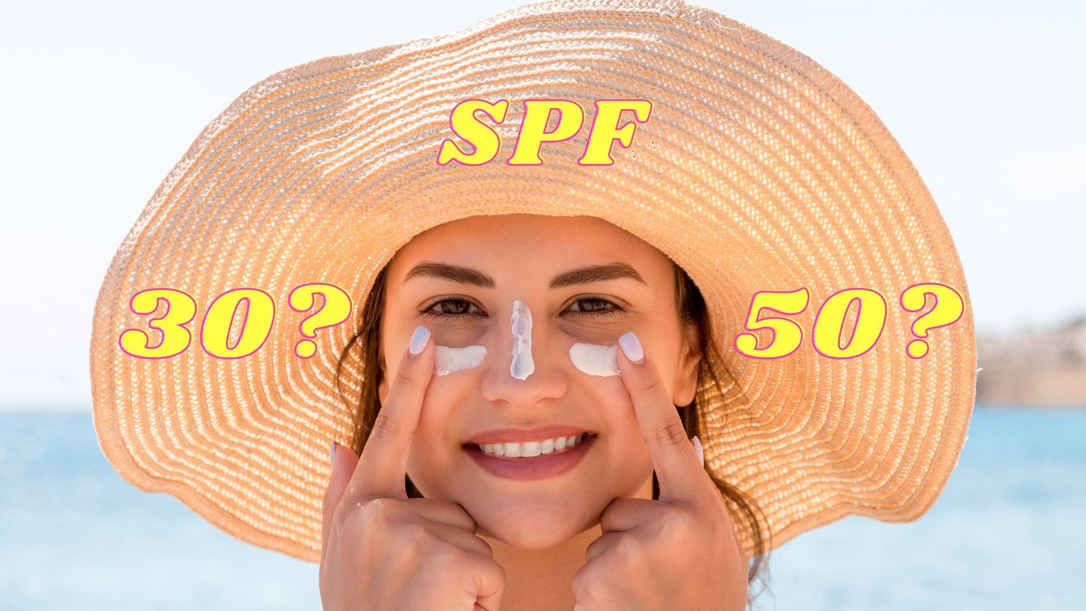 Jaki filtr SPF stosować latem - SPF 30 czy SPF 50?